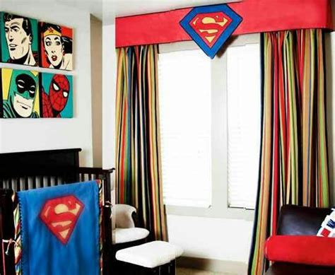 superman curtains superman baby room so cute home decor pinterest