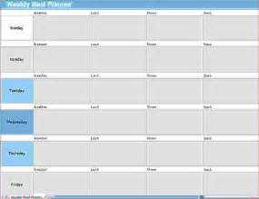 daily meal planner template 13 daily meal planner template memo formats