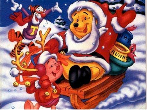 wallpaper disney kerst kerst achtergronden animaatjes nl