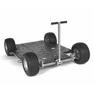 dolly on wheels matthews western dolly with push bar pull handle and pop