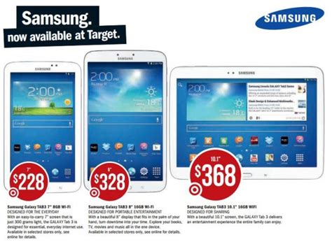big w samsung tablet target to begin selling samsung galaxy tab 3 tablets and accessories ausdroid
