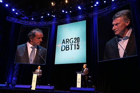 argentina debate el supercl 225 sico presidencial un debate acotado