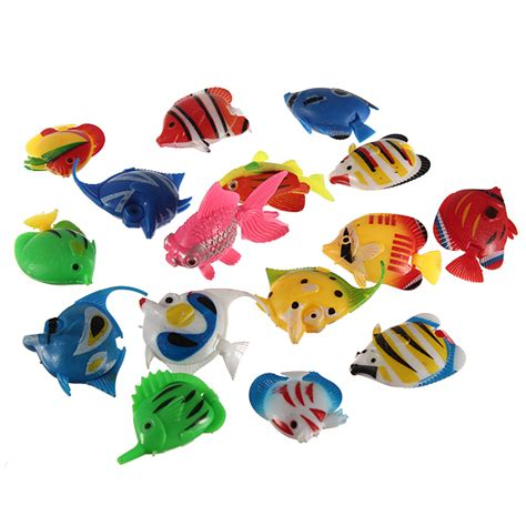 fake fish fish tank decoration plastic artificial tropical