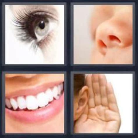 imagenes ojos nariz boca orejas 4 fotos 1 palabra ojo nariz boca oreja pulsa sobre la