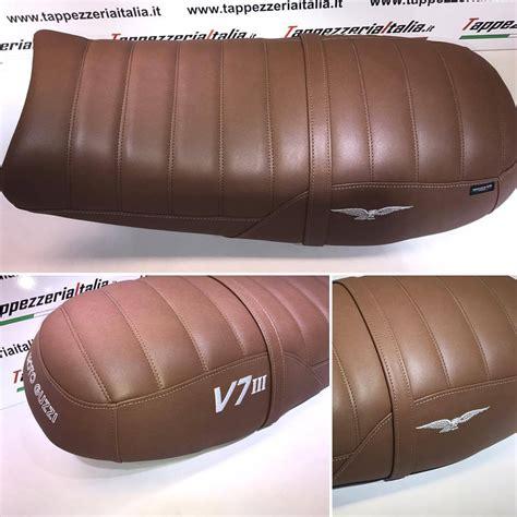 tappezzeria italia moto guzzi v7 iii tappezzeria italia seat cover custom