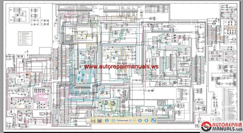 cat 950g 962g wheel loader electrical system schematic