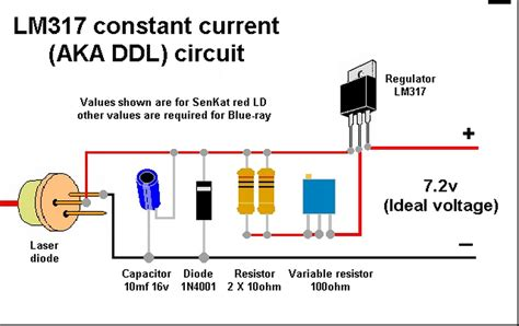 how laser diode module works building a laser driver circuit electrical engineering stack exchange
