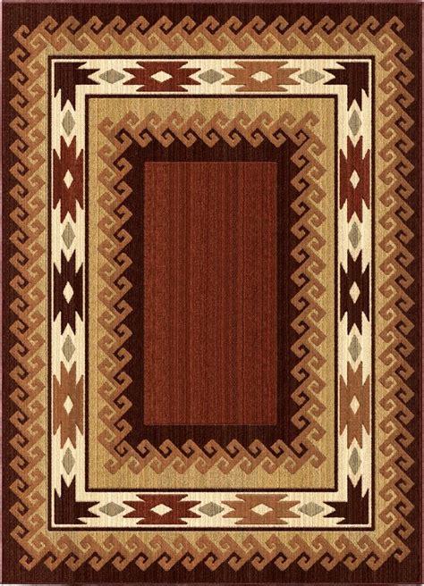 southwestern orian rugs anthology multicolor polypropylene