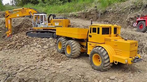 Plan Toys Mini Excavator Pt6316 2 rc digger rc wheel loader rc tipper rc dumper and