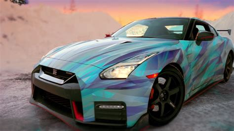 nissan gtr wrapped camo nissan gtr nismo wrapped in blue