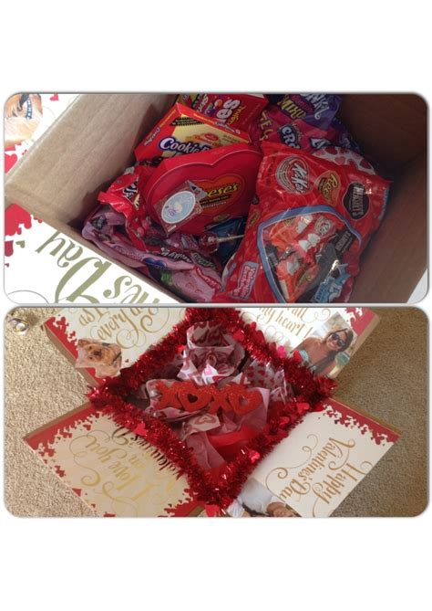 valentines packages care packages