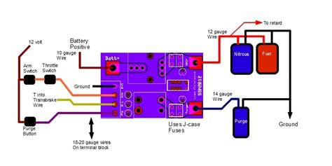 how to wire nitrous solenoids wiring diagrams wiring