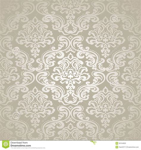 seamless floral pattern background vector graphic damask vintage floral seamless pattern background stock