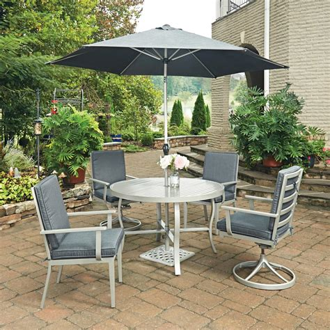 south 7 dining set home styles south grey 7 extruded