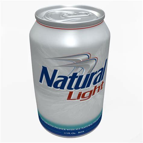 natural light 3d natural light beer model