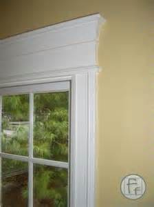 Crown Molding Around Windows Ideas Crown Molding On Moldings Window Trims And Crowns