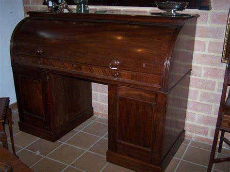 Mahogany Desks For Sale by Mahogany Cylinder Desk Circa 1875 For Sale Antiques Classifieds