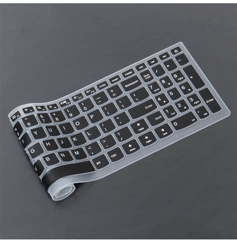 Keyboard Laptop Lenovo Ideapad 110 15 6 inch silicone laptop keyboard protective for lenovo ideapad 110