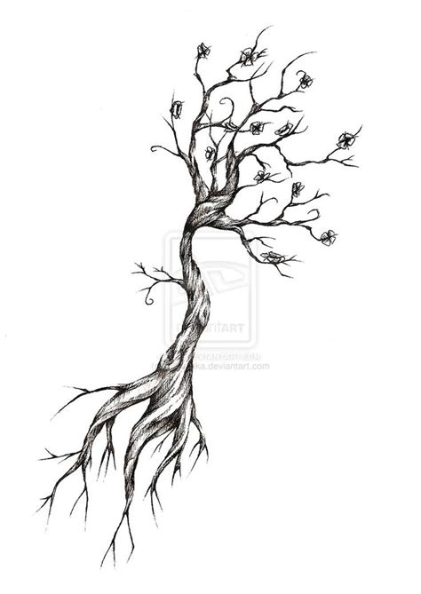 side tree tattoo designs 17 best ideas about tree designs on