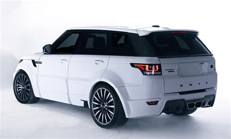 onyx range rover sport onyx concept range rover sport san marino is for a king