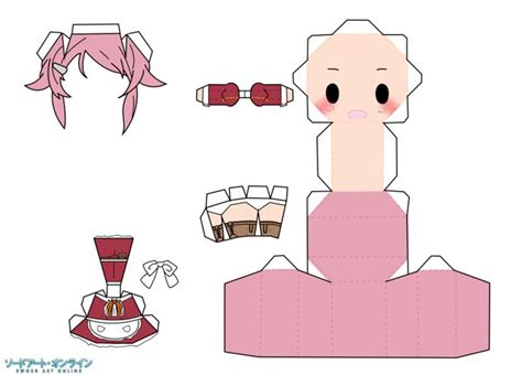 Anime Paper Craft - 17 best images about paper toys on moka