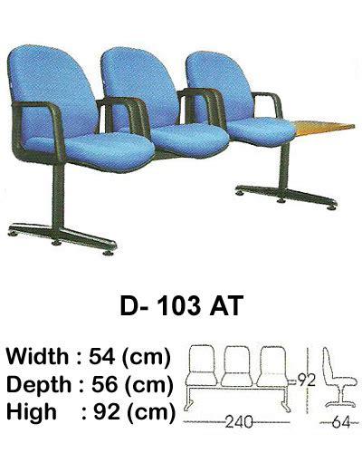 Kursi Tunggu Merk Indachi kursi tunggu indachi type d 103 at jual daftar harga furniture kantor di jakarta