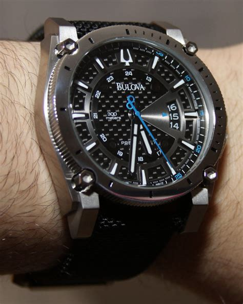 Harley Carbon Chrono Leather bulova precisionist chlain relojes de cuarzo