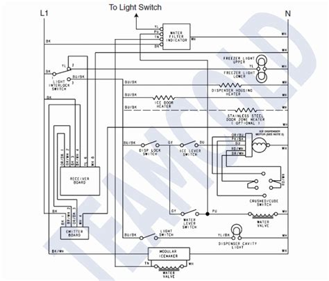 schematic wiring diagram of a refrigerator agnitum me