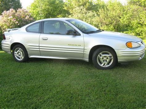how can i learn about cars 2001 pontiac grand am lane departure warning buy used 2001 pontiac grand am se 2 door 2 4l in skandia michigan united states