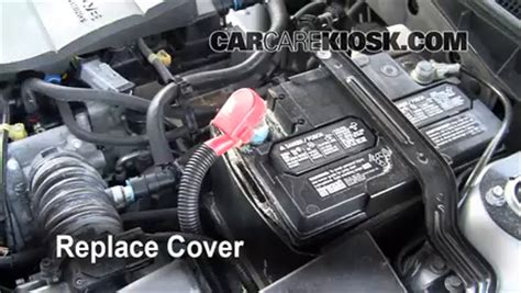 car battery mazda 6 how to clean battery corrosion 2003 2008 mazda 6 2006