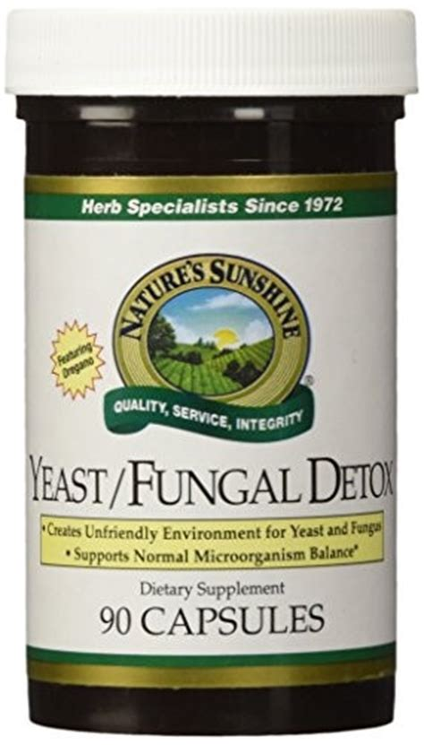 Detox 90 Dietary Supplement by Naturessunshine Yeast Fungal Detox Intestinal System