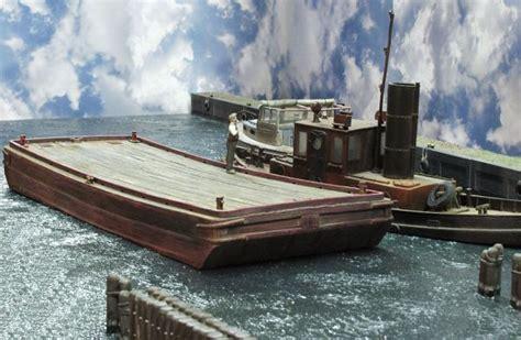 model boat deck cleats wooden deck scow ho scale model boat kits pinterest