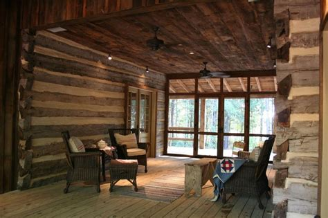 Dogtrot Cabin by Screened In Dogtrot Dogtrot