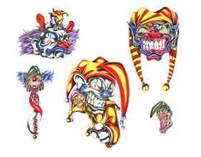 Flash Design Clown Tattoo Img6 171 Unsorted 171 Classic Tattoo Design 171 Tattoo