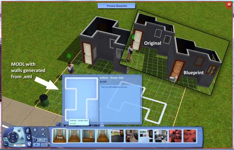 Room Layout Tools mod the sims can we add custom blueprints