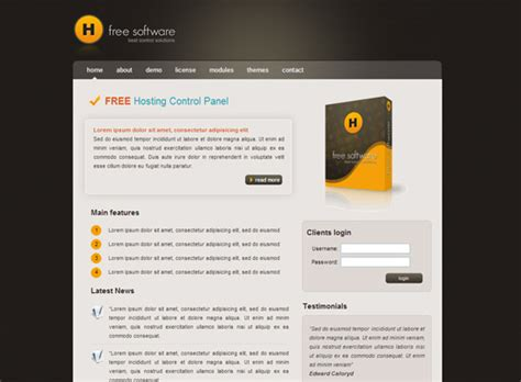 Website Templates Free Download Html With Css Javascript Free Website Templates Html And Css And Javascript