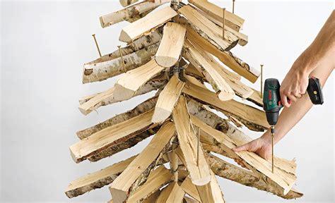 weihnachtsbaum aus holz selber bauen tannenbaum aus holz bauen holzarbeiten m 246 bel selbst de