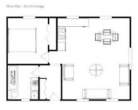 Free Cottage House Plans 20 X 30 House Plan Omahdesigns Net