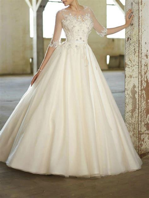 Wedding Dresses Size 4 by New White Ivory Wedding Dress Custom Size 2 4 6 8 10 12 14
