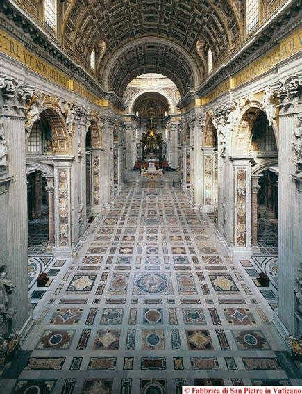 san pietro roma interno basilica papale san pietro