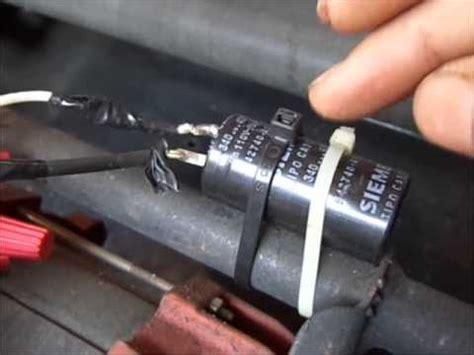 o que é um capacitor eletrolitico acionamento de partida de motores ptc