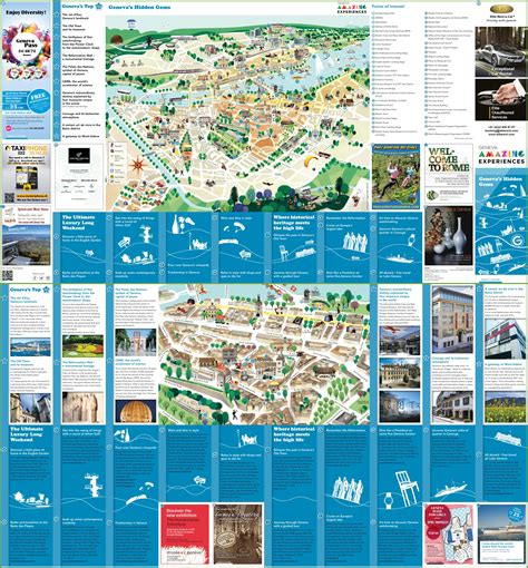 map of tourist attractions geneva tourist attractions map