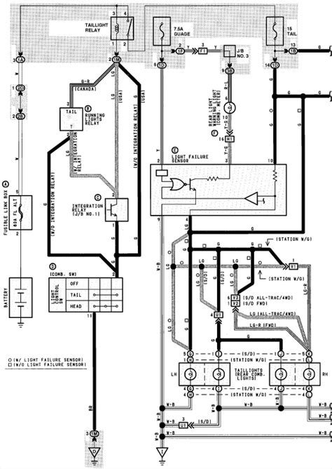 2013 toyota tacoma light wiring diagram wiring