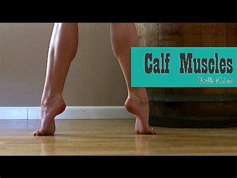 follow along calf exercise