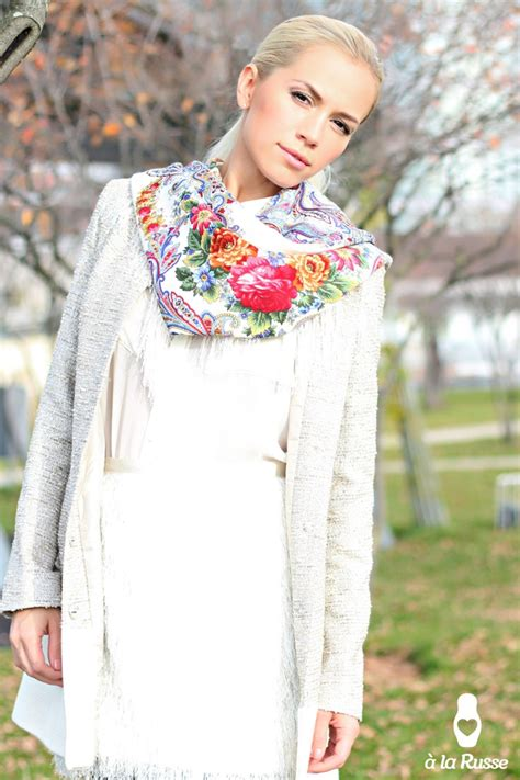 17 best images about russian shawls russian scarves on