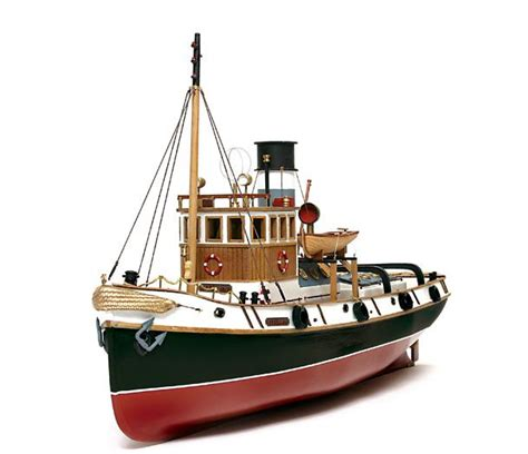 model boat kits radio controlled occre ulises tug 1 30 scale model rc wood metal boat kit