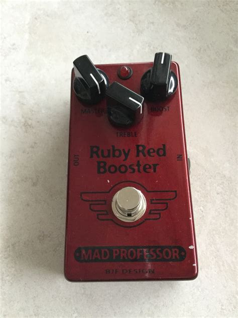 Booster X By Mad Prof photo mad professor ruby booster mad professor ruby booster 27312 1603178