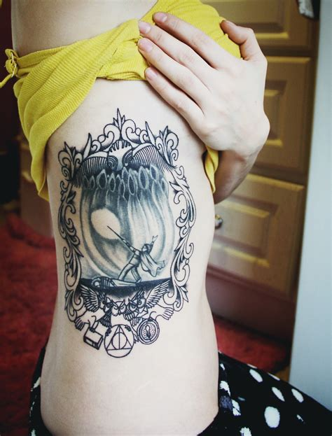 tattoo harry potter book reviews