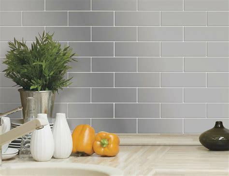 kitchen backsplash stick on tiles silver subway tiles kitchen wall backsplash peel stick 10 5 quot vinyl decals rv ebay