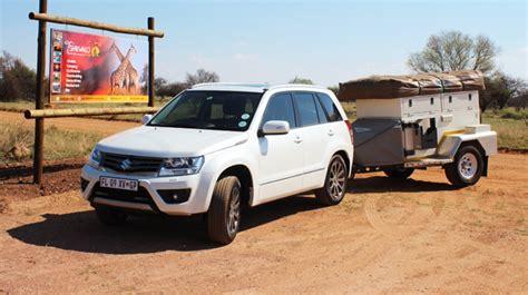 Suzuki Grand Vitara Towing Review Tow Vehicle Review Suzuki Grand Vitara Caravan